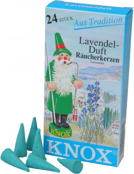 KNOX Räucherkerzen Lavendel