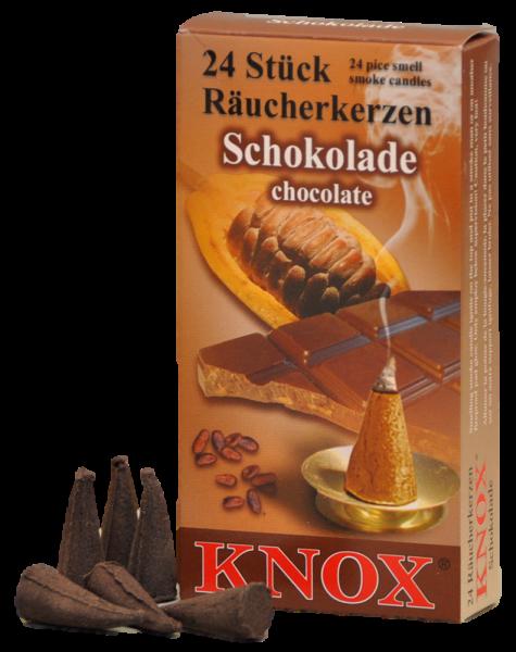 KNOX Räucherkerzen Schokolade