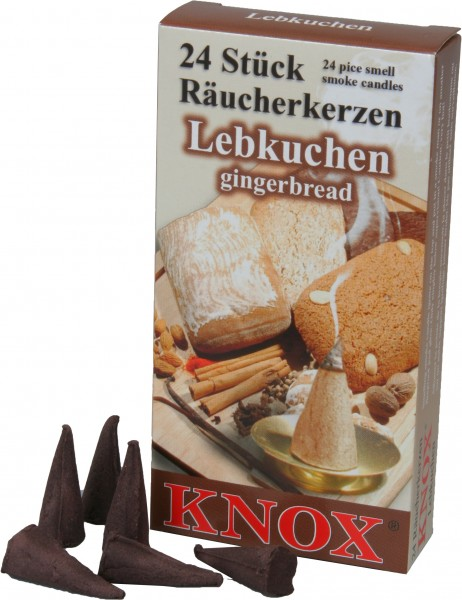KNOX Räucherkerzen Lebkuchen