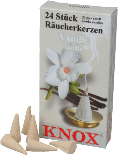 KNOX Räucherkerzen Vanille