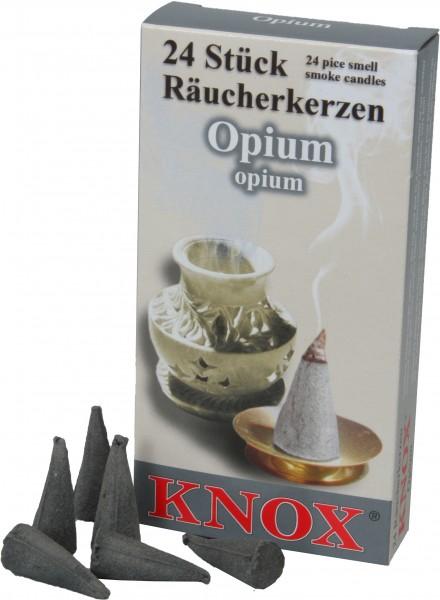 KNOX Räucherkerzen Opium