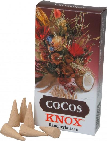 KNOX Räucherkerzen Cocos