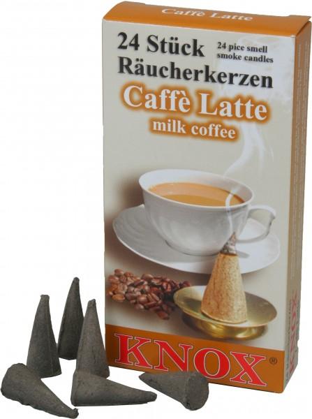 KNOX Räucherkerzen Kaffee Latte