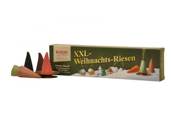 KNOX Räucherkerzen XXL-Riesen Weihnachtsriesen